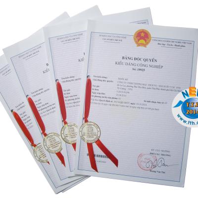Văn phòng phẩm TTH vinh dự nhận Bằng Độc Quyền Kiểu Dáng Công Nghiệp do Cục Sở Hữu Trí Tuệ cấp